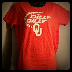 Budweiser University of Oklahoma Dilly Dilly shirt